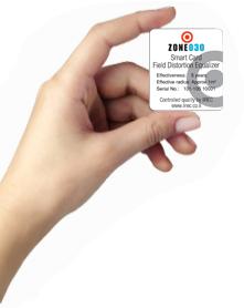כרטיס חכם לסינון קרינה - אקו סטור