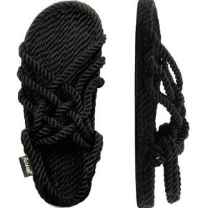 סנדלי גורקיז – דגם נוח צבע שחור