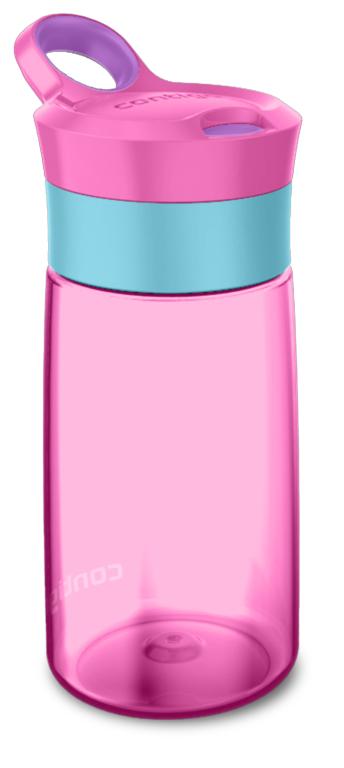 בקבוק רב פעמי לילדים גרייסי ורוד