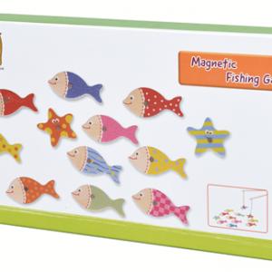 לדוג דגים - משחק מגנטים