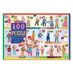 פאזל 100 חלקים - ילדי העולם