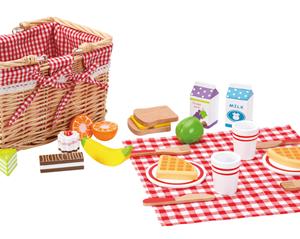 סט פיקניק מעץ - צעצועי עץ