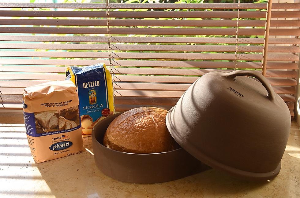 אופה לחם מחימר - אקו סטור