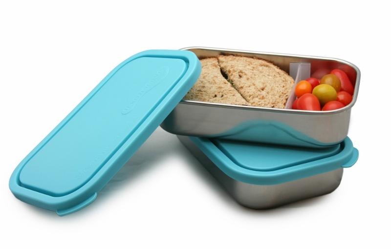 קופסאות אוכל לבית ספר - קופסת אוכל מחולקת - אקו סטור