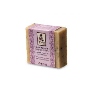 סבון מיכל - סבון רחצה מוצק יומיומי בניחוח לבנדר קלאסי