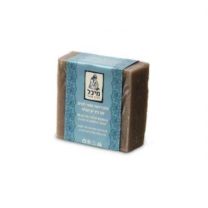 סבון מיכל - סבון רחצה מוצק טבעי מאזן בוץ ים המלח