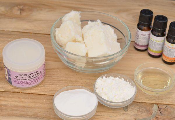 דאודורנט טבעי פרחוני - סבון מיכל