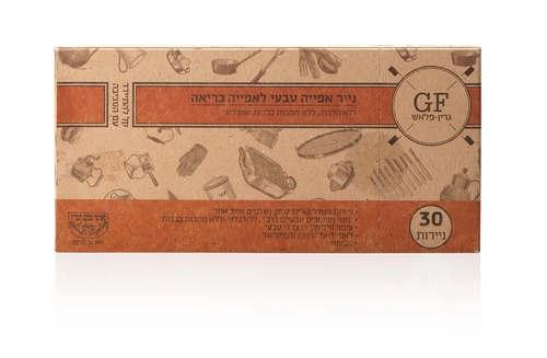 30 דפי נייר אפייה אקולוגים וטבעיים