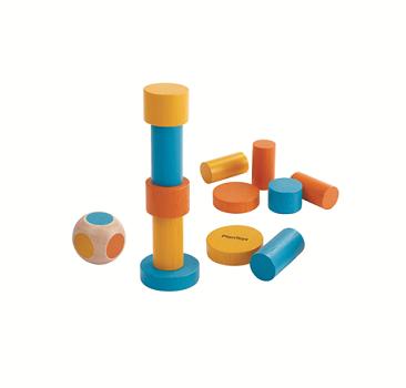 משחק מגדל קוביות עץ - מיני - צעצועי עץ לילדים