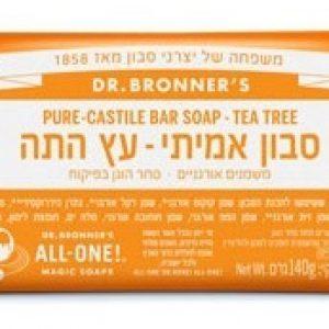 סבון מוצק אורגני עץ התה ד״ר ברונר - אקו סטור