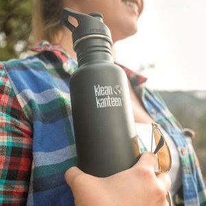 """בקבוק שתיה מאלומיניום קלין קנטין - 800 מ""""ל - אקו סטור"""