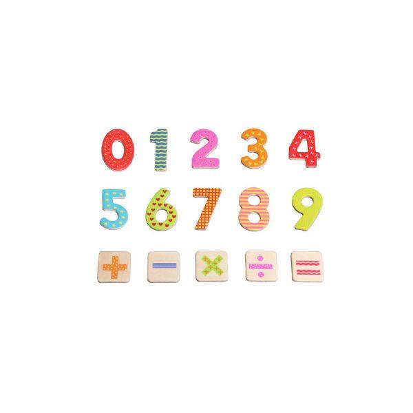 משחק מגנטים לילדים - מספרים