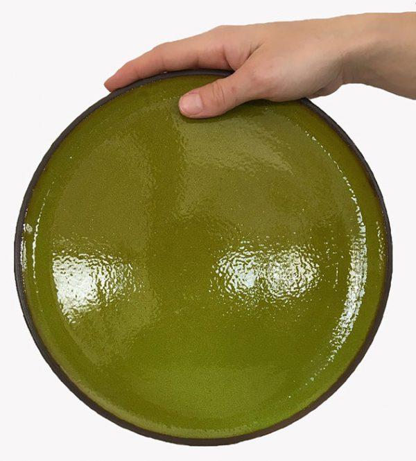 צלחת שטוחה למנה עיקרית - אקו סטור