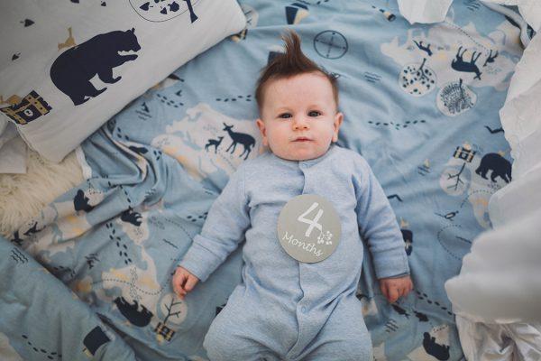 שמיכת תינוק גדולה - מטמון