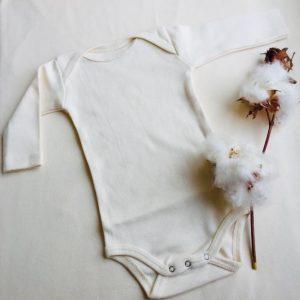 בגד גוף לתינוק - כותנה אורגנית
