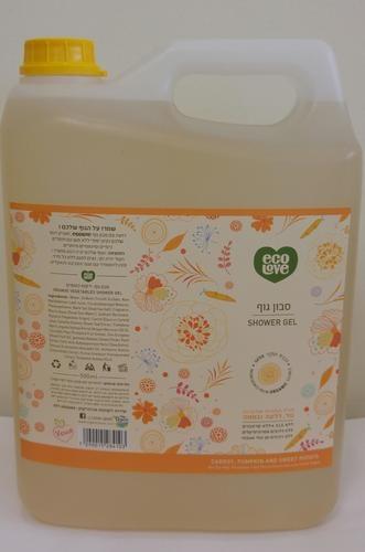 ecoLove 5 ליטר כתום סבון