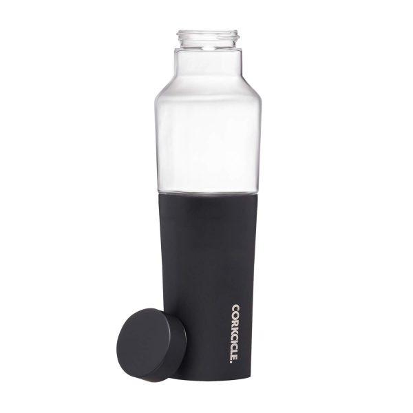 """HYBRID CANTEEN בקבוק 600 מ""""ל - שחור מבריק"""