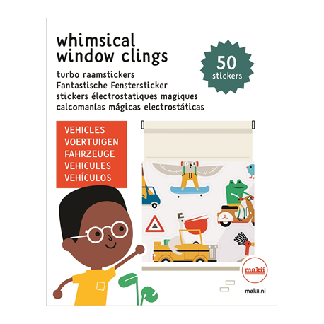 מדבקות רב פעמיות לחלון - רכבים
