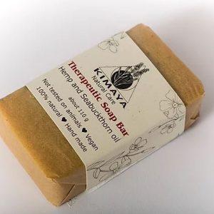 סבון מוצק טיפולי - המפ ואובליפיכה - Kimaya