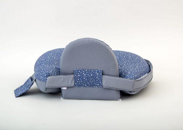 כרית הנקה ״מאמאסיטה״ לתינוק עם תמיכה לגב - כוכבים