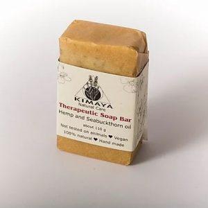 סבון טיפולי מרגיע - המפ סבון מוצק טיפולי - המפ ואובליפיכה - Kimaya- Kimaya