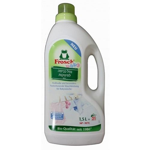 נוזל כביסה לתינוקות 1.5 ליטר - פרוש
