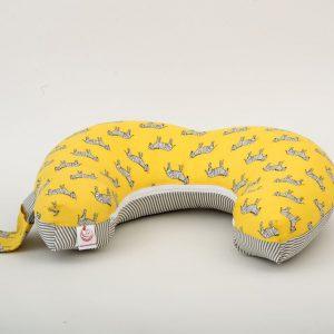כרית הנקה ״מאמאסיטה״ בייסיק - זברות צהוב