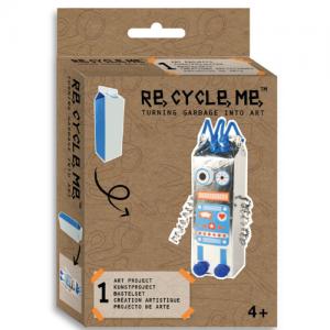 מארז יצירה ומיחזור - מיני רובוט