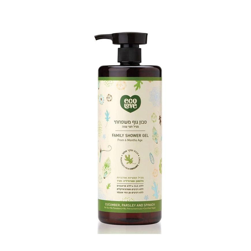 סבון גוף ירוק - ecoLove