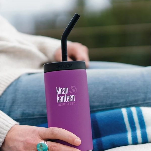 """בקבוק שתיה עם פיית קפה קלין קנטין - 473 מ""""ל"""
