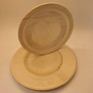 צלחות מעץ אורן