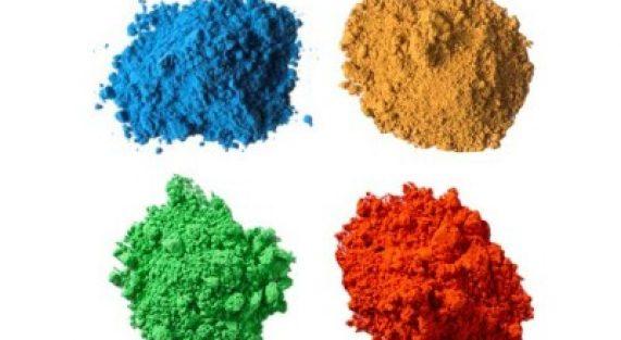 אבקת פיגמנט טבעי לצבעים